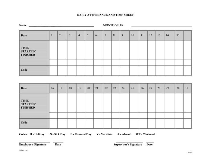 51 attendance sheet for employees sheet employees attendance for