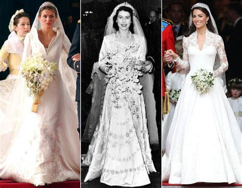 Royal wedding dress: From Kate Middleton to Princess Mary