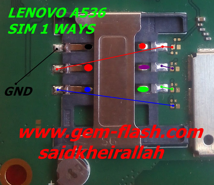 Lenovo A536 Insert Sim Card Problem Solution Jumper Ways