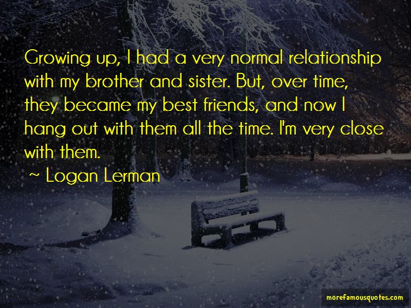 Quotes About A Brother And Sister Relationship Top 11 A Brother And