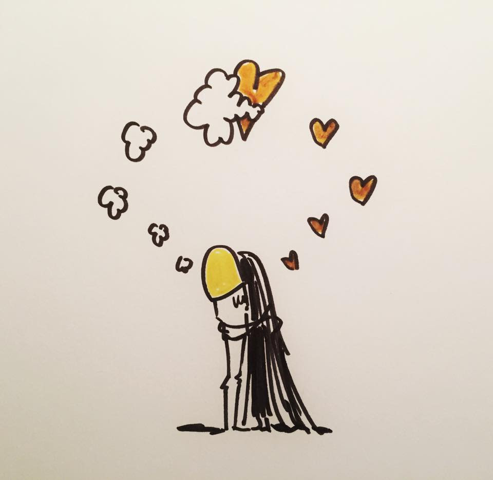 Sólo Existe Un Abrazo Que Represente La Comunión Perfecta Del Amor