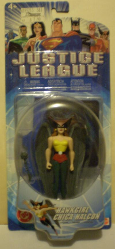 Hawkgirl action figure