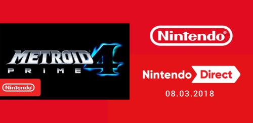 Apresentação Nintendo Direct 08.03.2018