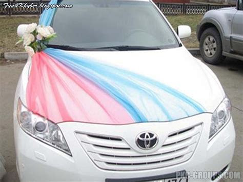 Fun4khybeR: Wedding Decorated Cars with Wedding Quotes