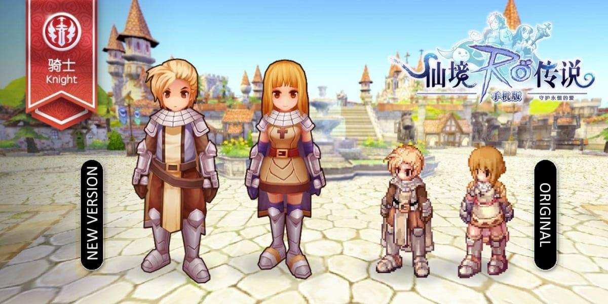 Ragnarok Online Mobile - Knight 1