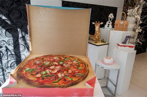 This GIANT pizza isn?t quite what it seems   real fix