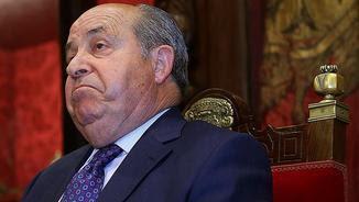 Torres Hurtado, en la roda de premsa que ha ofert després de quedar en llibertat amb càrrecs (EFE)