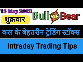 Best intraday trading stock For 15 May 2020   कल के लिए बेहतरीन इंट्राडे...