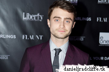 Daniel Radcliffe attends Kill Your Darlings after party