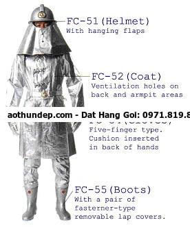 giá quần áo chữa cháy