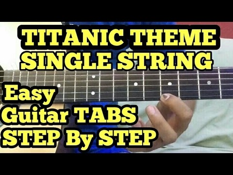 Titanic Theme Guitar Tabs Lesson On Single String My Heart Will Go On Tabs Finger Taping Indian guitar tablature, guitar chords and tabs. titanic theme guitar tabs lesson on