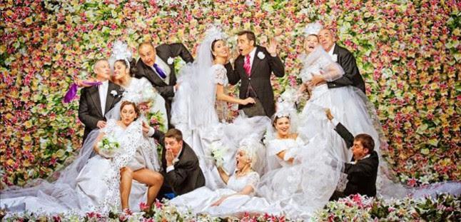Actores de La Cubana en una fotografía promociponal de