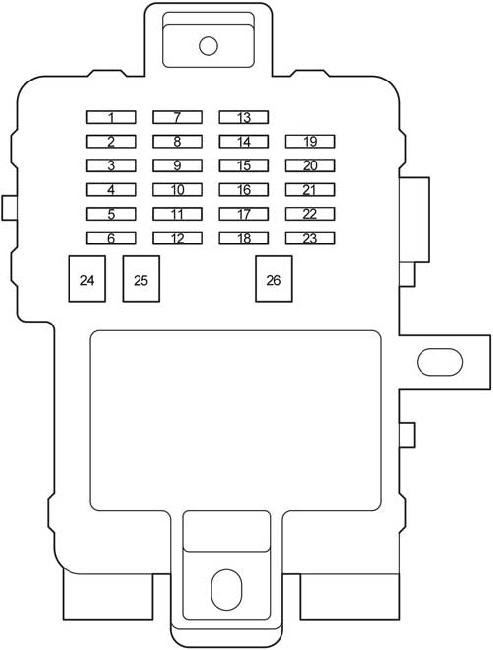 2002 Toyotum Sequoium Fuse Box Diagram