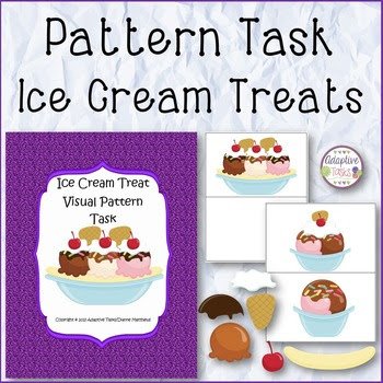 Ice Cream Treat Visual Pattern Task