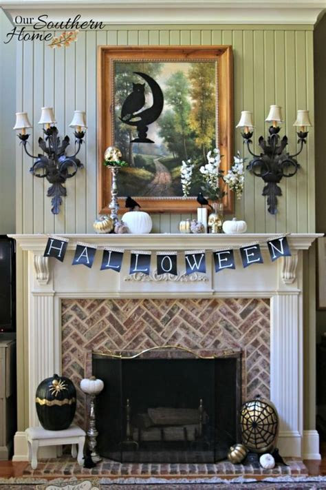 Top 18 Easy Halloween Mantel Decor ? Cheap Party Holiday
