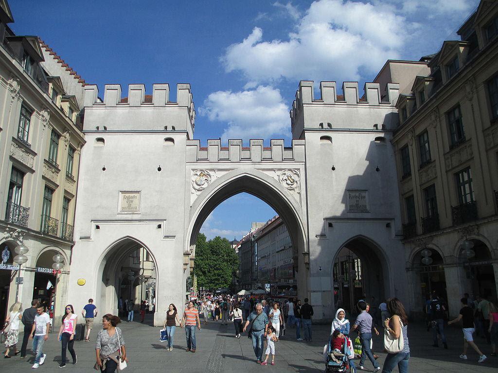 Kreuzviertel Attractions Walking Tour Munich Germany