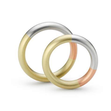 Niessing   Tricolour Gold & Platinum Rings   Orro