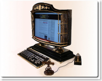 all-in-one Victorian PC