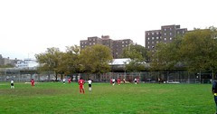 Brooklyn Internatonal High School football match