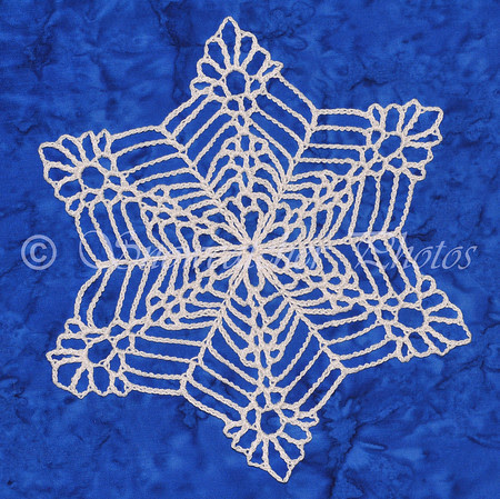 Bigger, Wetter, Heavier Snowflake with flower center