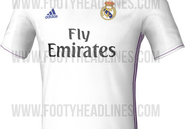 c7e7f6a95a0a8 Se filtran fotos de la Camiseta del Real Madrid 2016-2017 ...