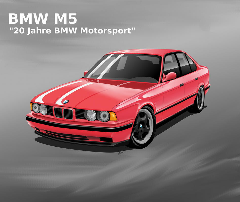 "BMW M5 E34 ""20 Jahre"" by"