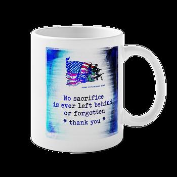 Military Sacrifice Mug