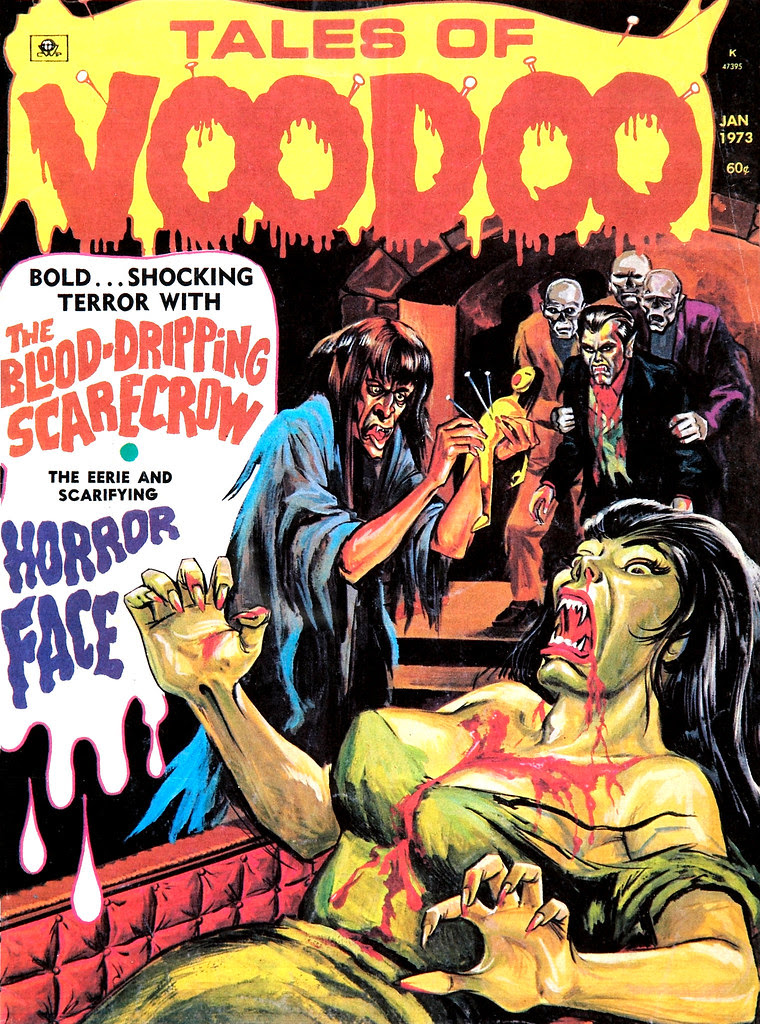 Tales of Voodoo Vol. 6 #1 (Eerie Publications 1973)