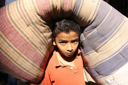 the dharavi child - mattress kid by firoze shakir photographerno1