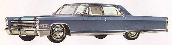 1966 Cadillac Fleetwood Series