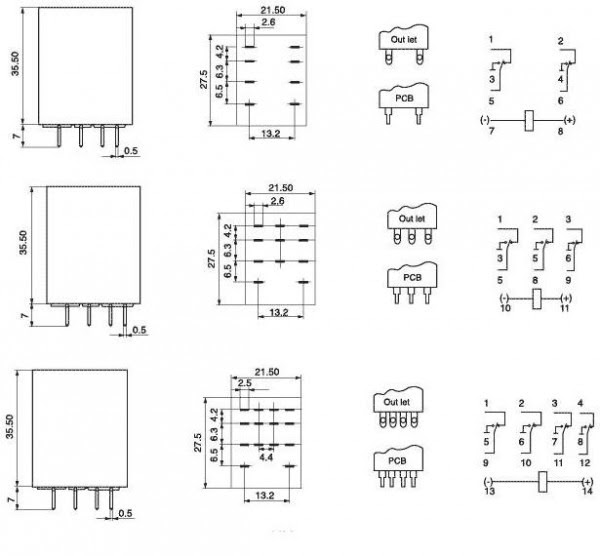 Omron 12v Relay Wiring Diagram