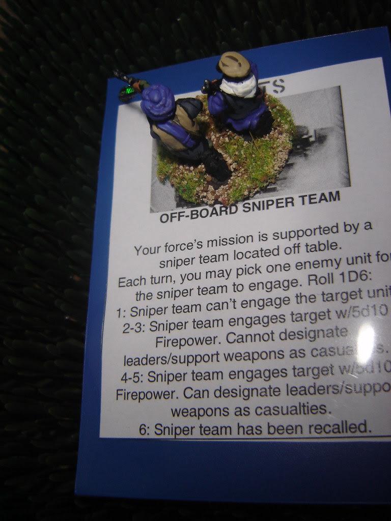 Taliban off-board snipers