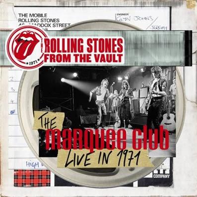 Los Rolling Sones han reeditado The Marquee Club – Live in 1971
