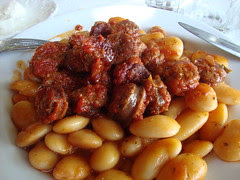 baked beans with sausage hania pelion
