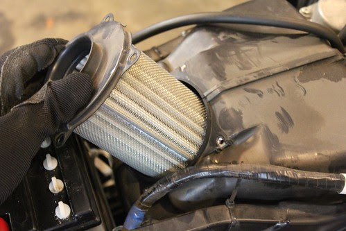 GS500 Air Filter Replacement