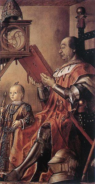File:Pedro Berruguete - Prince Federico da Montefeltro and his Son - WGA02085.jpg