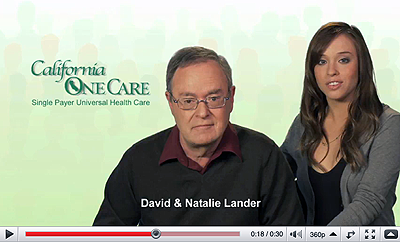 California OneCare Ad #19 David and Natalie Lander