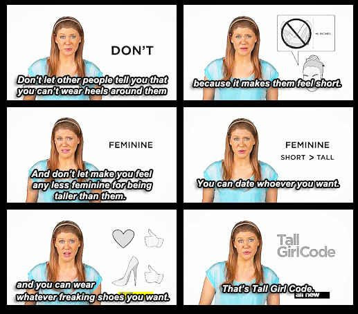 Tall Girl Code Funny Pictures Quotes Memes Funny Images Funny