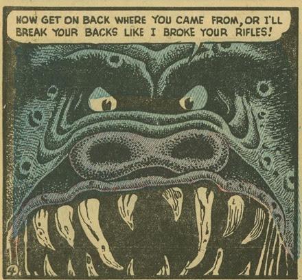 Basil Wolverton Swamp Monster Weird Mysteries 5 04_cr