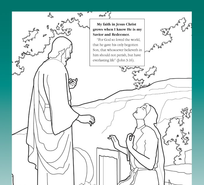 Lds Nursery Coloring Pages Thanksgiving ...