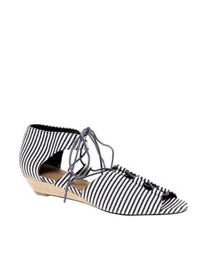 Image 1 of ASOS FANCLUB Wedge Sandals