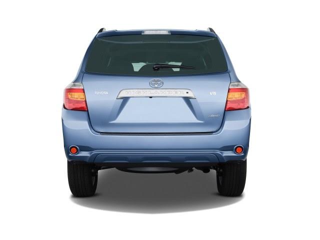 2009 Toyota Highlander 4WD 4-door V6 Limited (Natl) Rear Exterior View