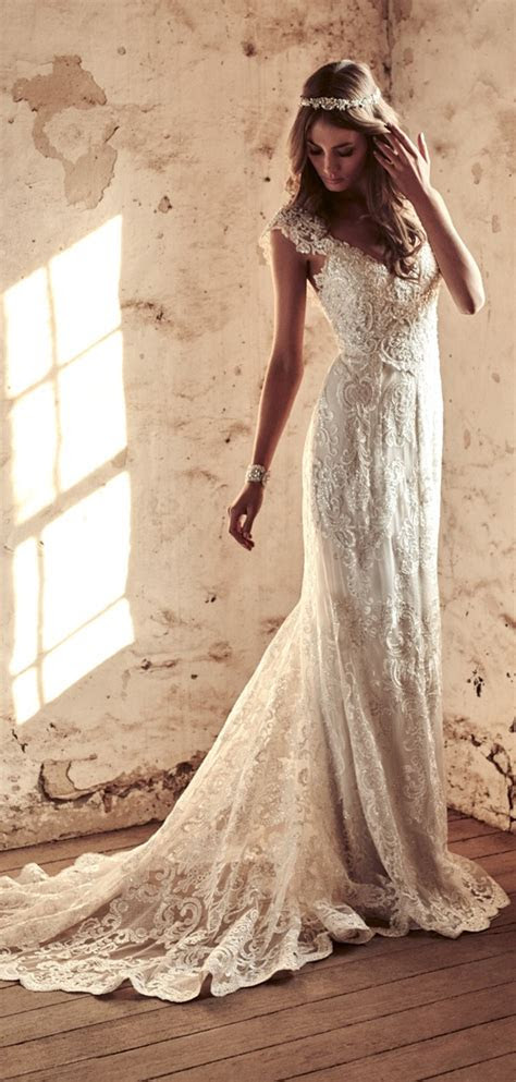 anna campbell vintage wedding dresses  eternal heart