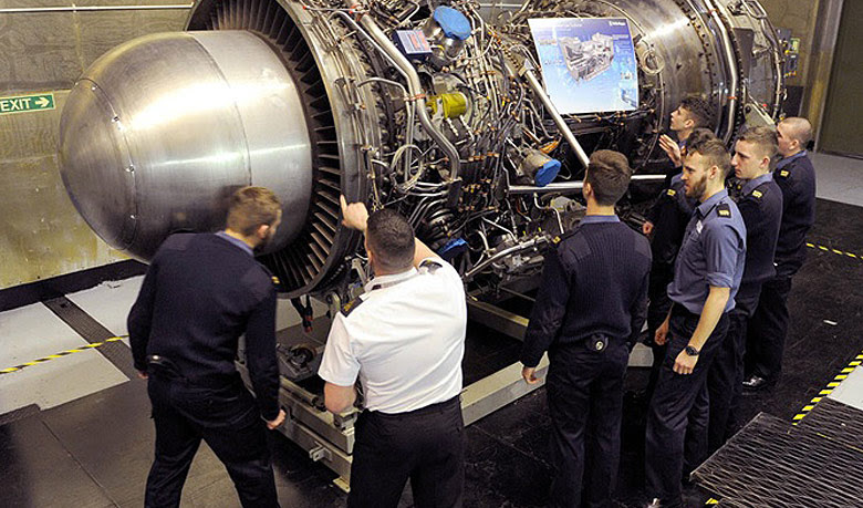 Ratings training on marine a Gas Turbine