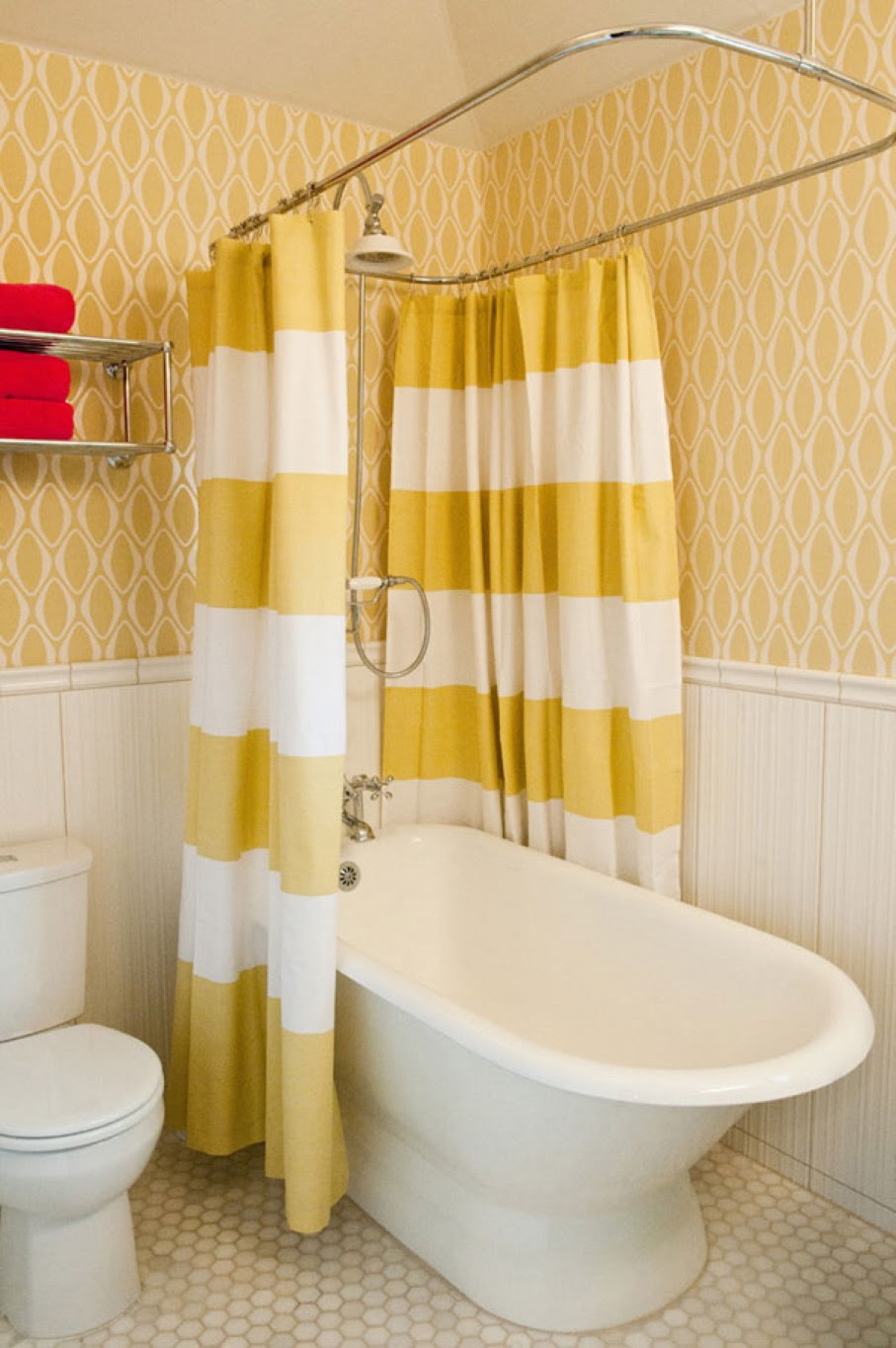Art Deco Shower Curtain How To Decorate Bathroom With Style Homesfeed