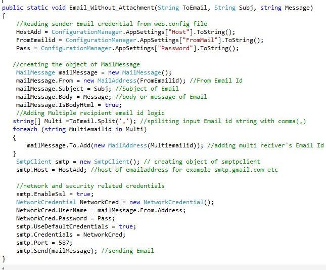 Class File code