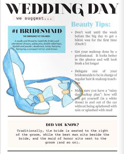 wedding illustrations for framework magazine shoes heels