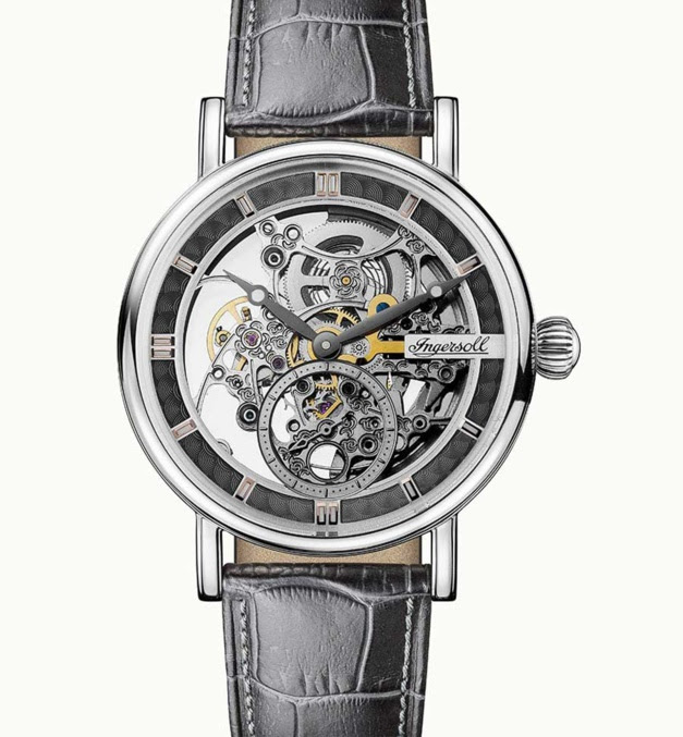 Ingersoll The Herald Automatic : un squelette ultra-accessible