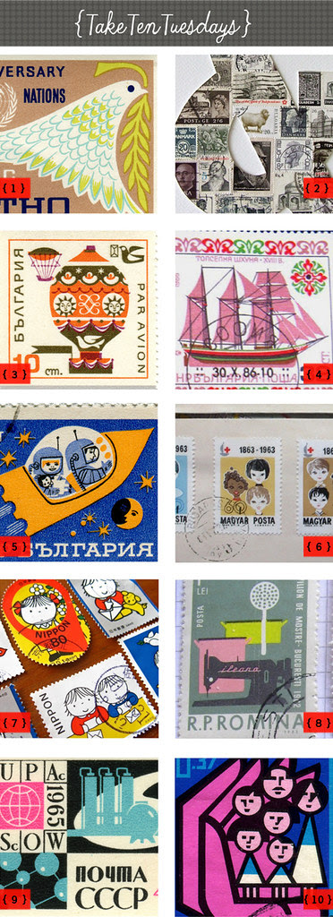 taketentuesdays stamps