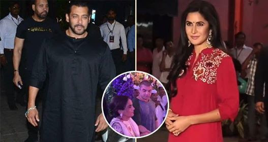 Ganesh Aarti At Arpita's Residence; Salman And Katrina Along With Others Join